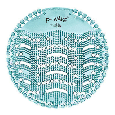 P-Wave Urinal Screens Ocean Mist Ref WZDS60OM [Pack 10]