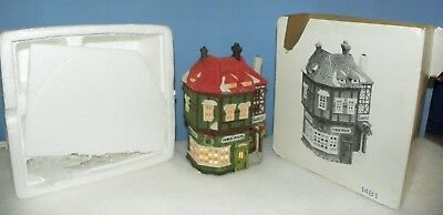 Dickens Village Public House Dept 56 Department Christmas Limited Edition 1481