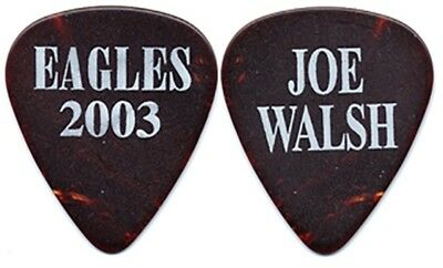 The Eagles Joe Walsh authentic 2003 concert tour custom band stage Guitar Pick