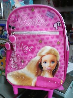 zaino trolley asilo Barbie originale