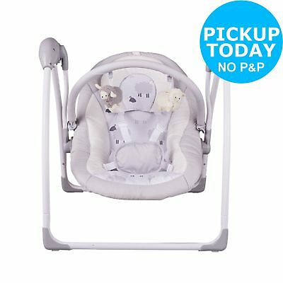 Cuggl Music & Sounds Folding Baby Swing Suitable from Birth upto 9kg - Sheep
