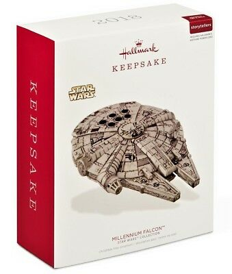Hallmark 2018 Star Wars Millennium Falcon Ornament with Light and Sound