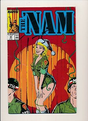 Marvel Comics THE 'NAM  #23 ~ VF/NM 1986 (HX737)