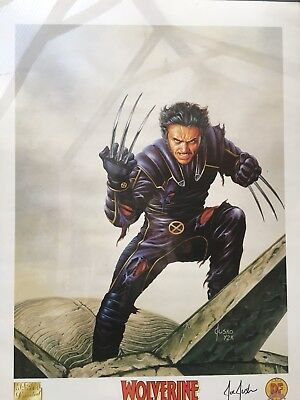 Wolverine Signed Limited Edition Lithograph Joe Jusko Dynamic Forces 2000