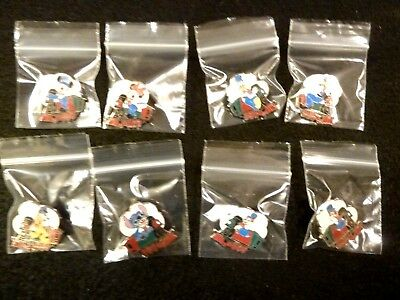 2014 Complete All (8) Conductor Train Pin Set - Limited Magical Mystery - New