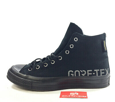 1241419311c NEW! CONVERSE CHUCK TAYLOR '70 SNEAKERBOOTS 162350C Black/Gray Gore Tex  Pack c1