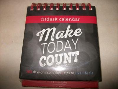 Make Today Count Fitdesk Calendar for Daily Fitness and Inspiration Sealed
