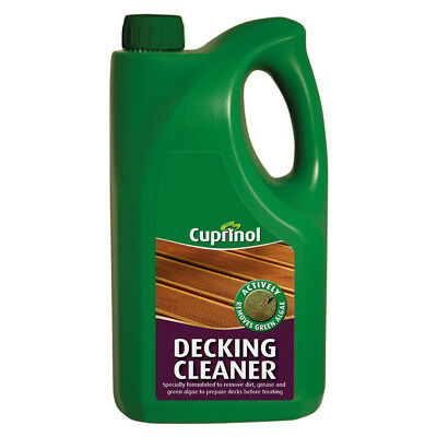 Cuprinol Universial Decking Cleaner For Wood Patios And Stonework - 2.5L