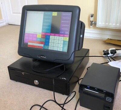 Full RADIANT SYSTEM Touch Screen Epos System Printer Drawer