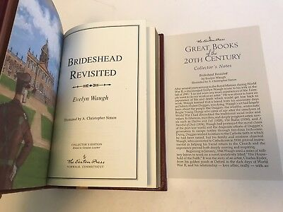 EASTON PRESS Evelyn Waugh BRIDESHEAD REVISITED Great Books 20th Century Leather