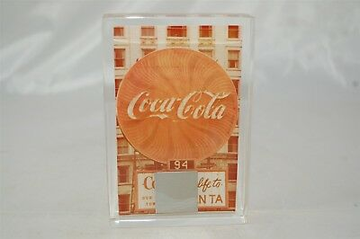 Coca Cola Coke Atlanta Margaret Mitchell Square Sign Piece in Paper Weight