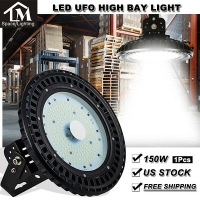 150W UFO LED High Bay Light Factory Warehouse Gym Shed Lighting Industrial lamp