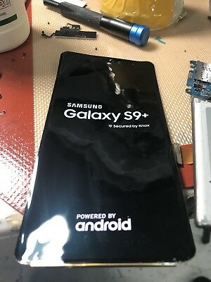 Samsung Galaxy S9 plus Cracked Screen Glass Repair Replacement Mail In Service