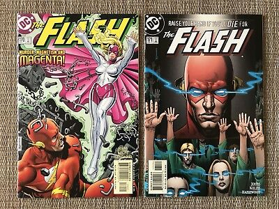 FLASH # 170 & 171, First 1st appearance of Cicada, DC Comic Book