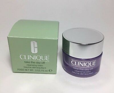 Clinique Take The Day Off Cleansing Balm Travel Size NIB Makeup Remover .5oz