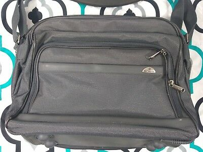 Samsonite Carry on Travel Bag, Gray/Black, New without Tags
