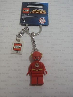 LEGO SUPER HEROES DC THE FLASH KEYCHAIN NEW 853454 6116676