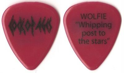 Def Leppard authentic band issued 2012 Rock of Ages Wolfie tech Guitar Pick