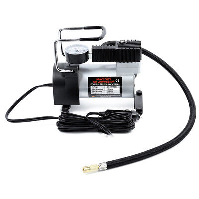 12V Portable Car Electric Inflator Pump Air Compressor 100PSI Electric Tire W2O1