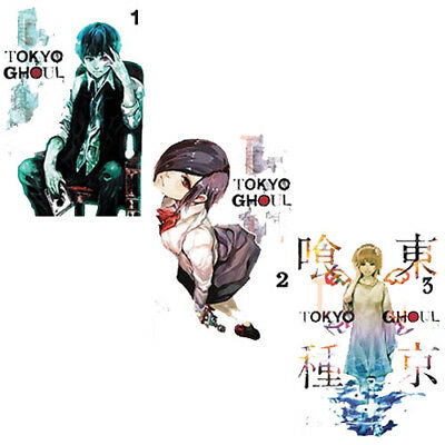 Tokyo Ghoul Collection Volume 1-3 Books Set By Sui Ishida volume 1 Paper back