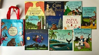 The Julia Donaldson Story Collection Of 10 Books Children/Kids Ages 3+ Years New