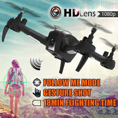 SH7 Foldable Mini Drone 1080P HD Camera RC Quadcopter 2.4Ghz 4CH 6-Axis Toy Gift