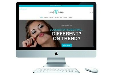 NEW! Online E-commerce Store For Sale – www.trendythings.com.au!