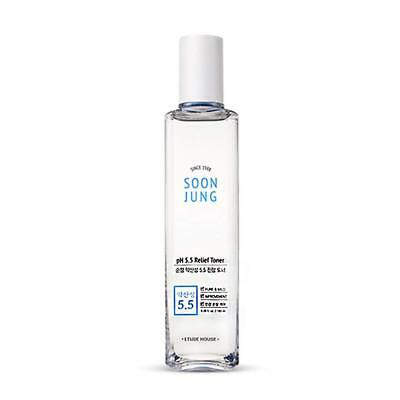 [ETUDE HOUSE] Soon Jung PH 5.5 Relief Toner - 180ml