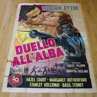 DUELLO ALL'ALBA poster manifesto Rutherford Eythe Meet Me at Dawn G18