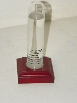 Admiral Fitzroy's Storm Glass Barometer 19th Century