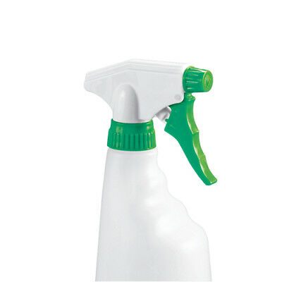 2Work Green Trigger Spray Refill Bottle Pack of 4 101958GN