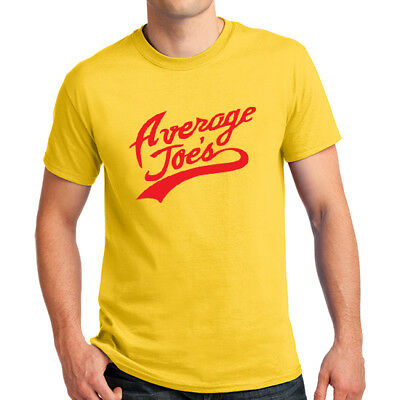 AVERAGE JOES GYMNASIUM Logo DODGEBALL T-shirt Joe's Gym Team