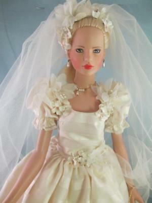 "Modern Robert TONNER Doll *Gillian* Bride Doll 20"" Limited Edition 54/500"