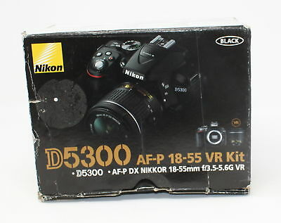 Nikon D5300 24.2 MP Digital SLR Camera Double Zoom Lens with 18-55mm f/3.5-5.6G
