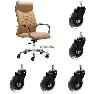 3 inch Office Chair Replacement Swivel Caster Wheels Kit 5 Pack MY8L 01