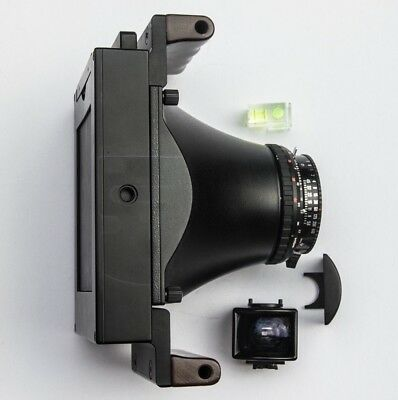 Fotoman 45PS (5x4, 4x5) with 110mm cone, copal 1 shutter, and viewfinder window