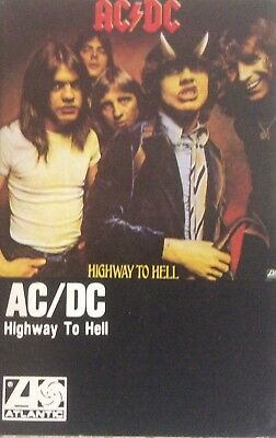 AC/DC - Highway to Hell - Original Canadian 1979 Cassette Tape - VG Playtested