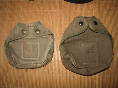 2x Arctic Canteen Cover 1. und 2. Version - auch Special Forces US Army REFORGER
