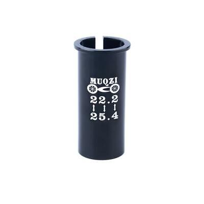 Bicycle Seatpost Sleeve Shim Bike Seat Post Tube Adapter 22.2mm to 25.4mm