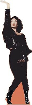 SELENA Q -fashioned in black boots - Life size Cardboard Cutout Standee