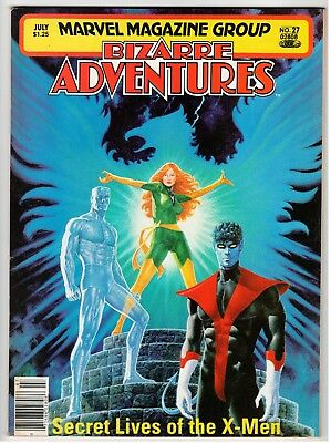 Marvel Magazine Group BIZARRE ADVENTURES #27 - VF July 1981 Vintage Magazine