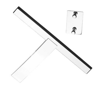 Window Squeegee Hand Held Cleaning Shower Glass Mirror Cleaner Smear Free