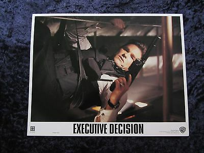 Executive Decision lobby card # 7 - Kurt Russell, Halle Berry