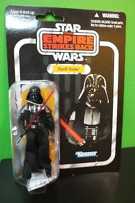 Star Wars Darth Vader The Empire Strikes Back Action Figure VC08 Kenner 2010 New