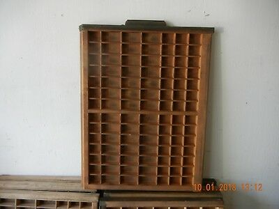 Ludlow printers type tray (Free shipping except to the west coast)
