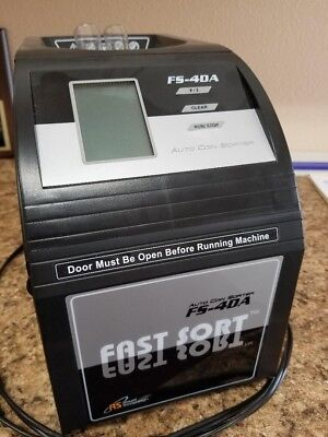 Royal Sovereign Fast Sort Digital Coin Sorter Counter  Fs-4Da