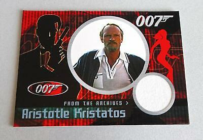 Aristotle Kristatos James Bond Cc5 For Your Eyes Only Case Topper Costume Card