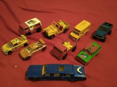 lot 9 voitures majorette car toys limousine camion sport. Black Bedroom Furniture Sets. Home Design Ideas