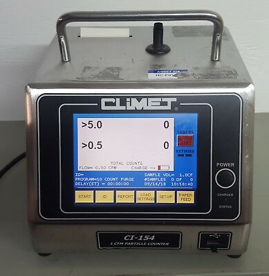 Climet CI-154 Particle Counter