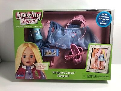 2006 Amazing Allysen All About Dance Playpack by Playmates New in Box